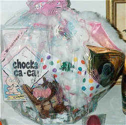 gift basket for baby & new mom