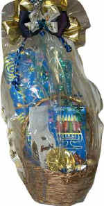 a chanukah gift basket
